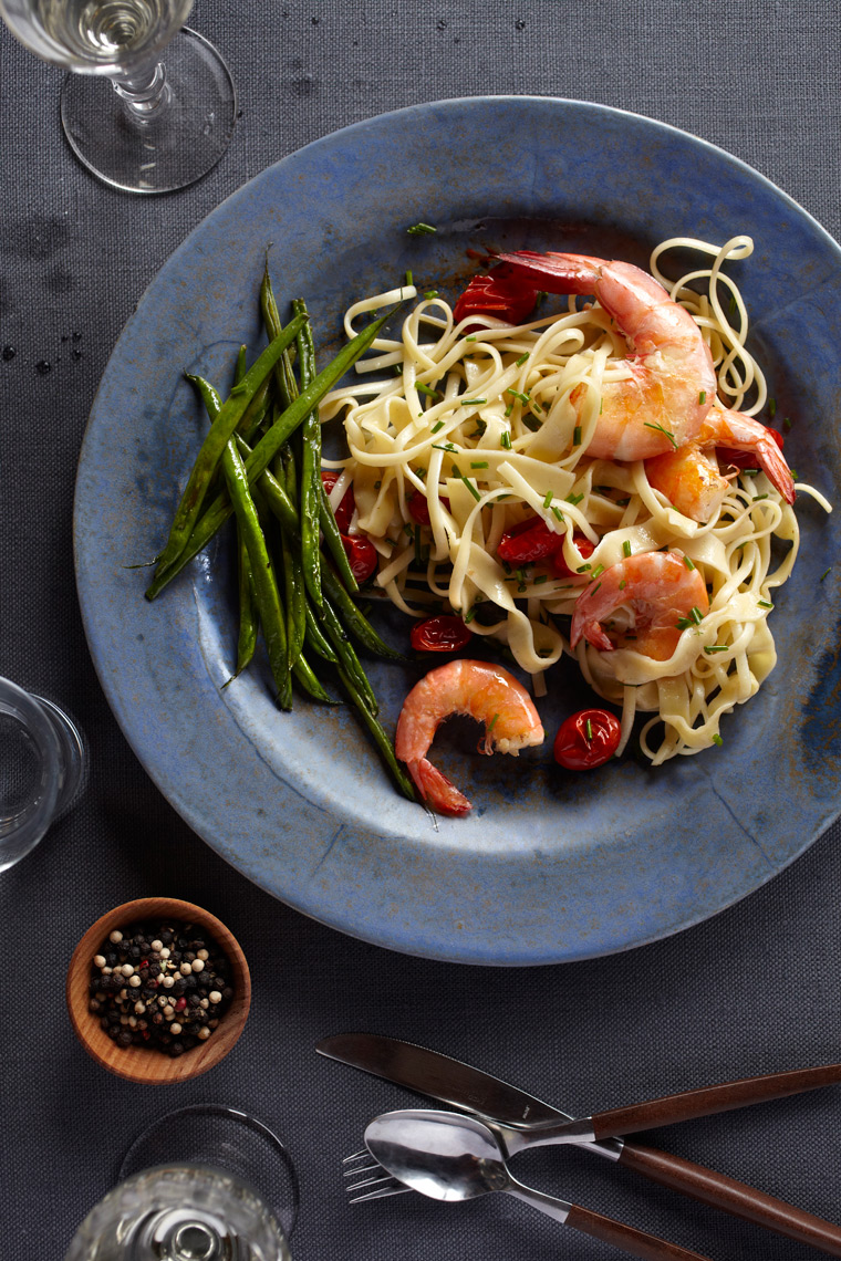Marx-food-photography-pasta-shrimp-dinner