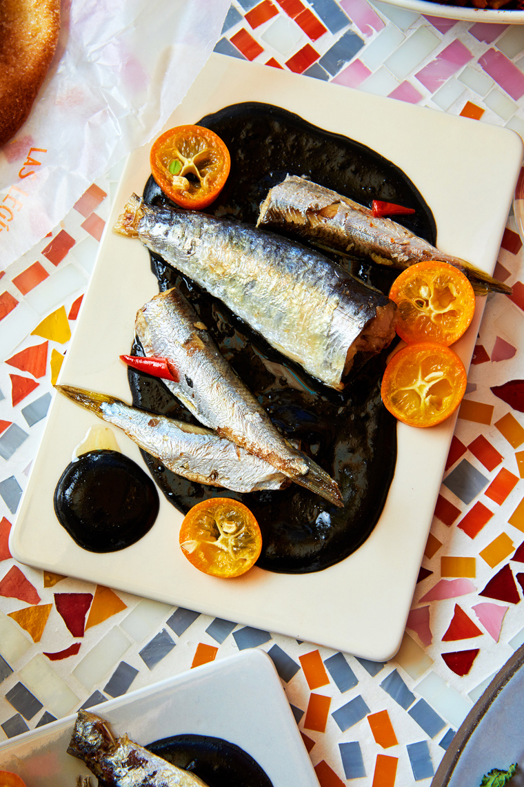 Marx-food-photography-sardines-anchovies-squid-ink-moroccan