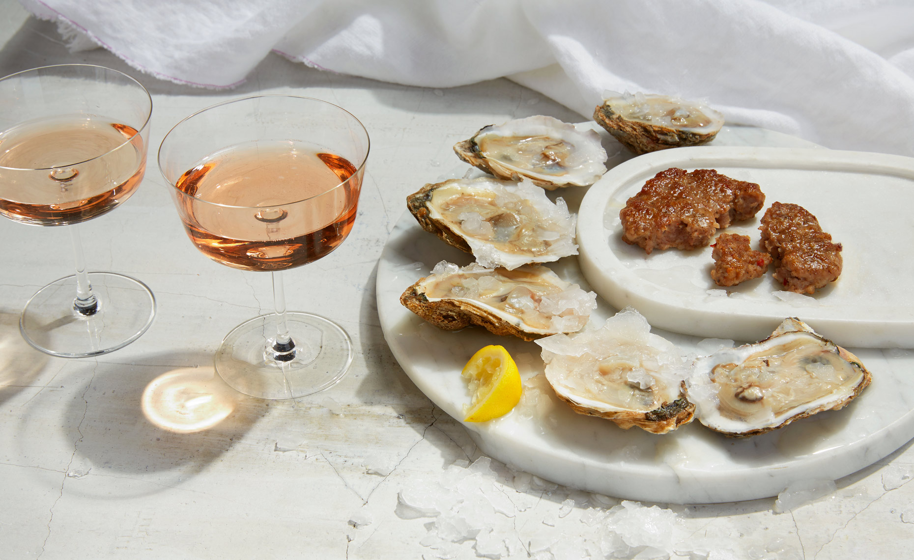 Marx_Food_photography_pork_oysters_sausage_champagne